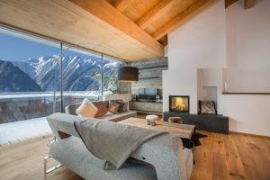rockyourbnb penthaus Wohnzimmer kitzbüheler alpen